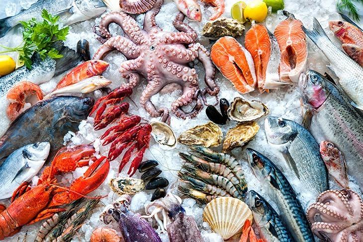 seafood-variety