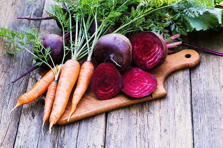 Beetroot and Carrot